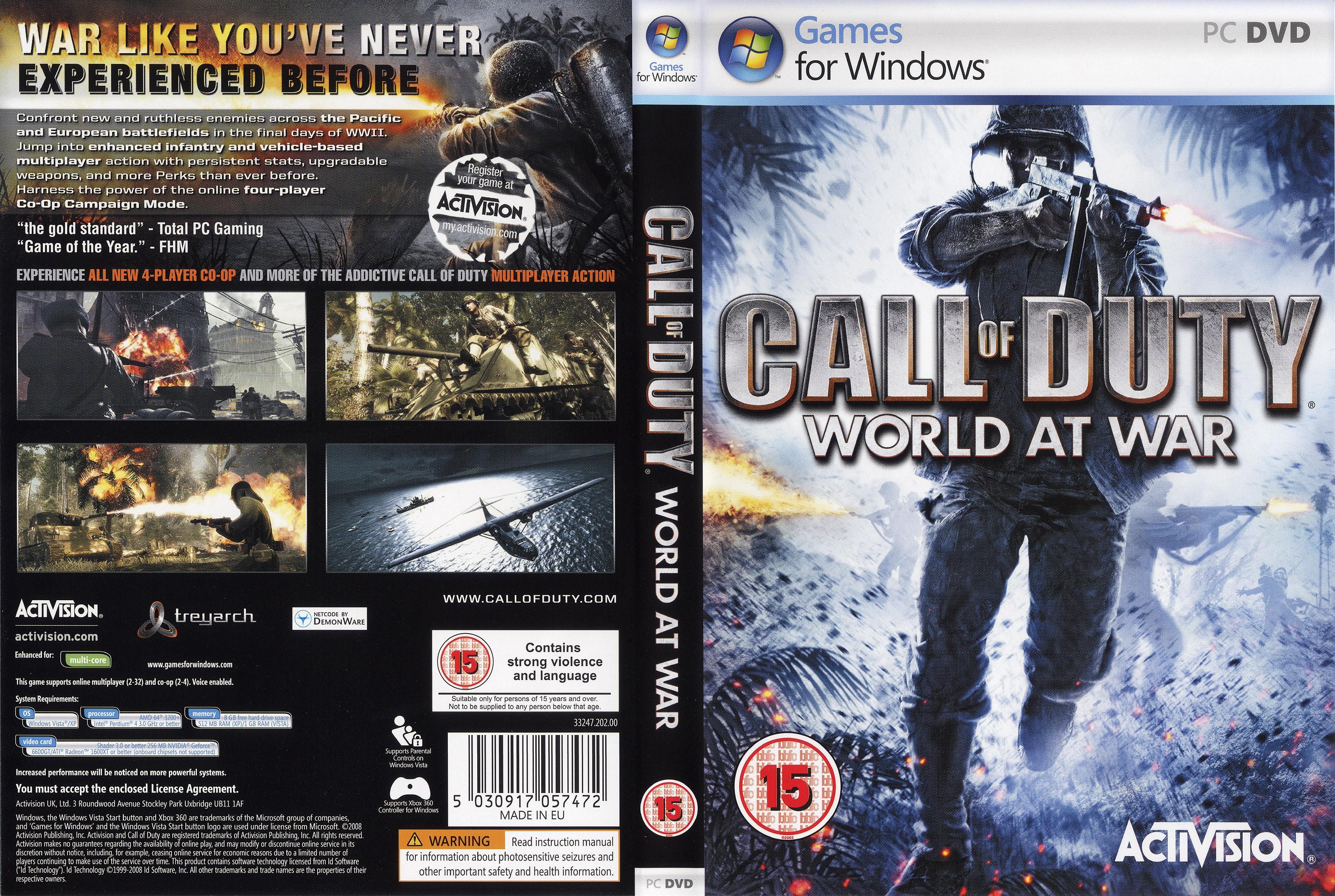 Call Of Duty 5 World at War | Gamerzline