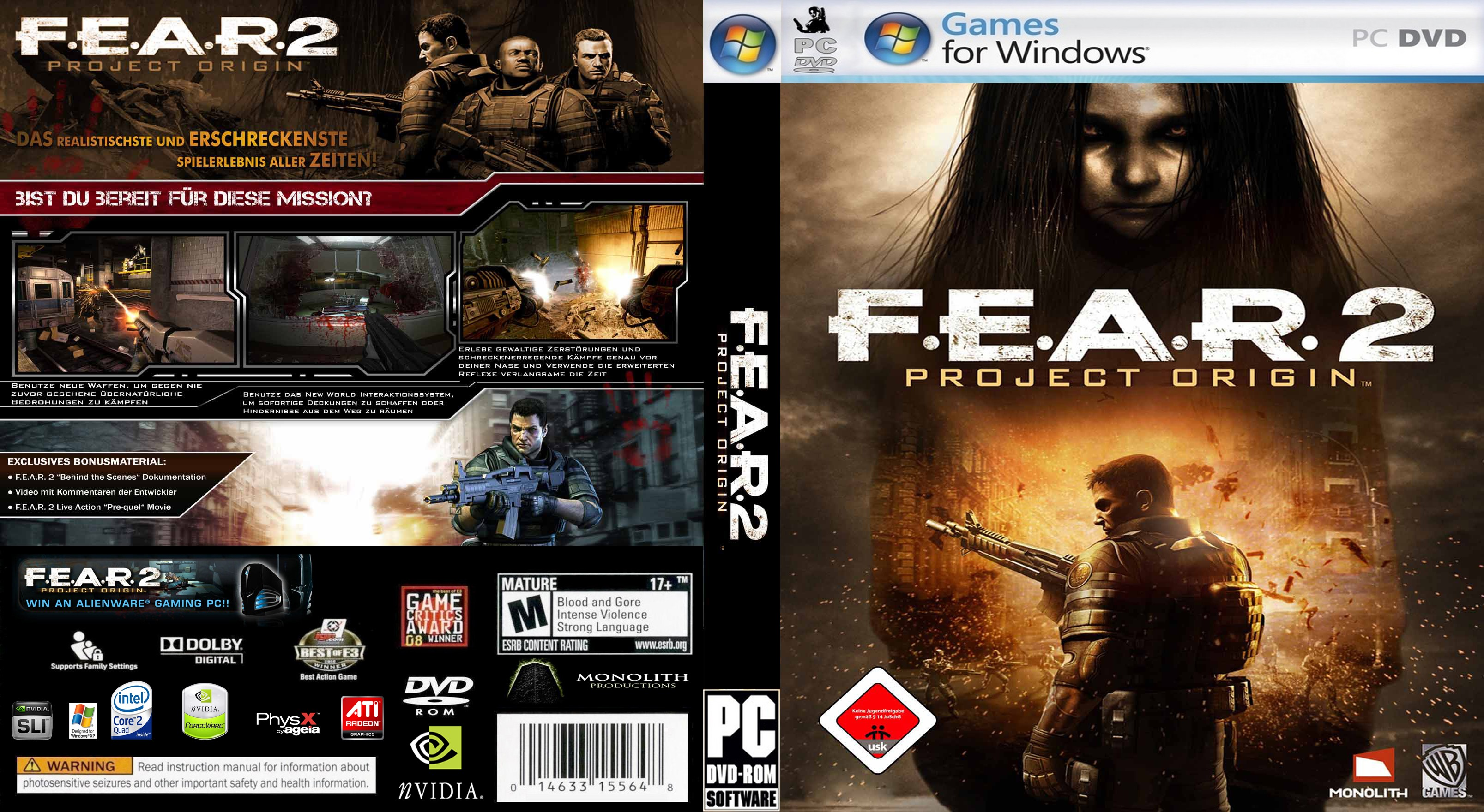Fear 2 Project Origin Gamerzline on WordPress.com.