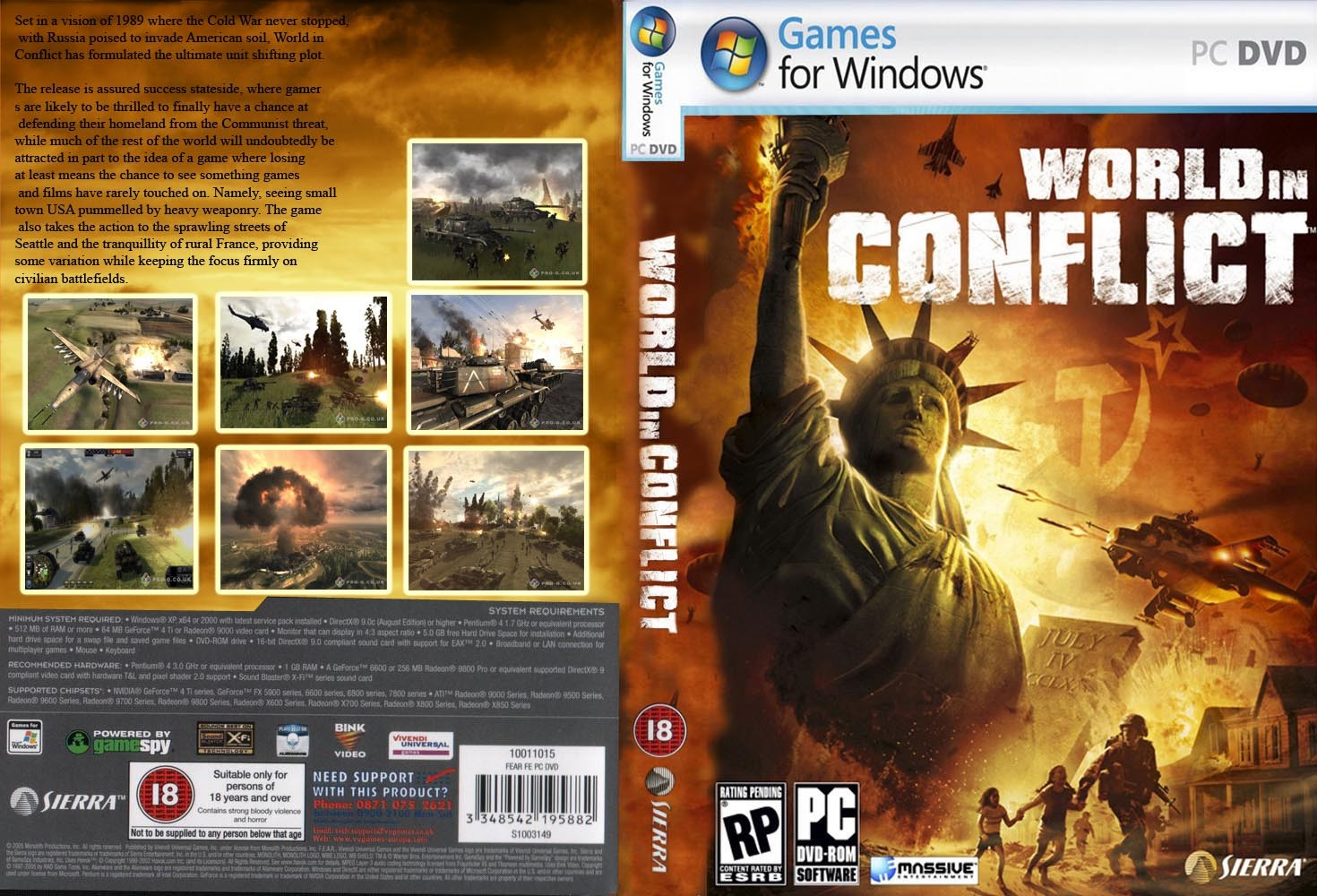 World In Conflict Gamerzline