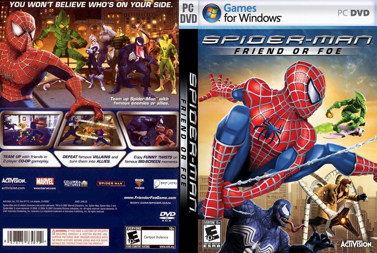Spider man friend or foe download
