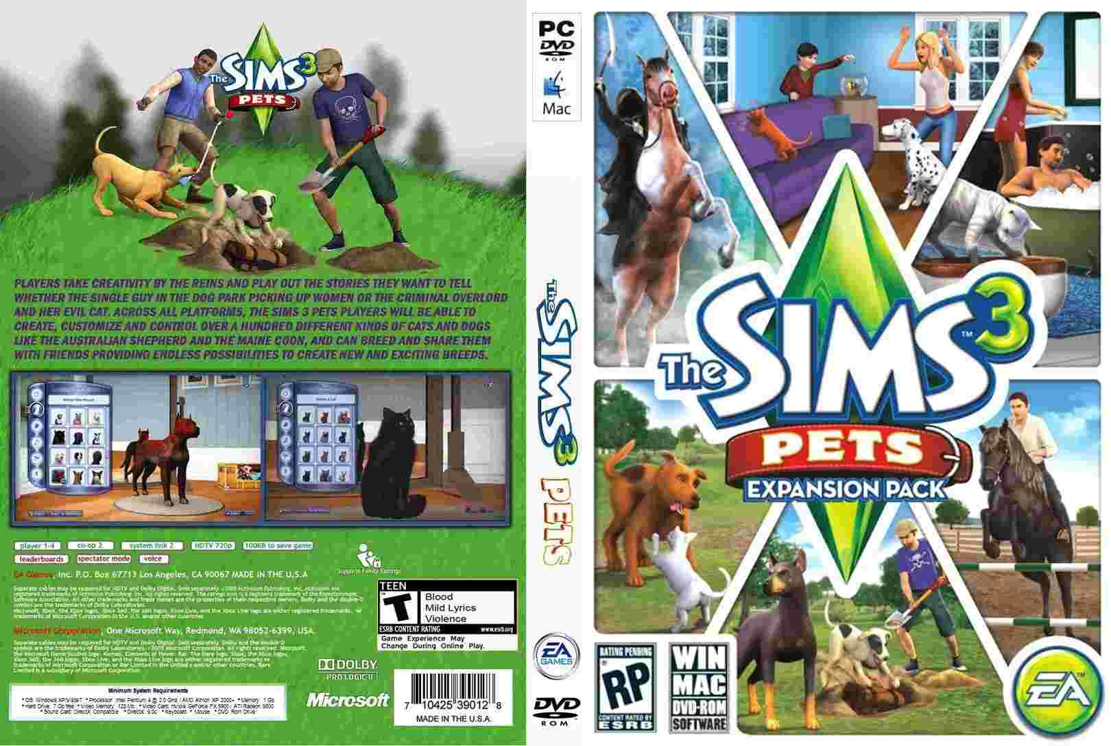 The sims 3 pets cheats xbox 360 - 3