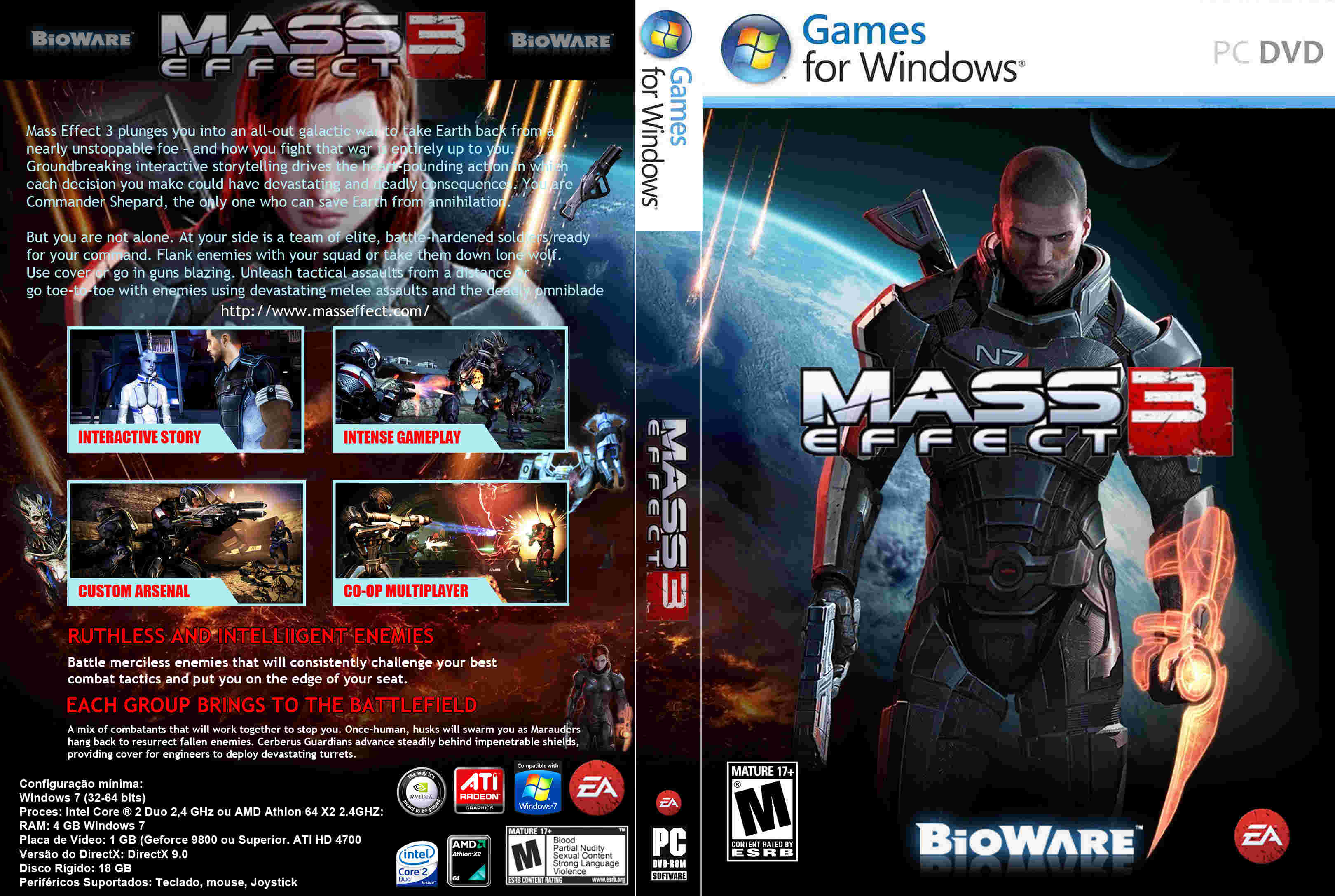 Free Download Mass Effect 3 Full Version - Ronan Elektron
