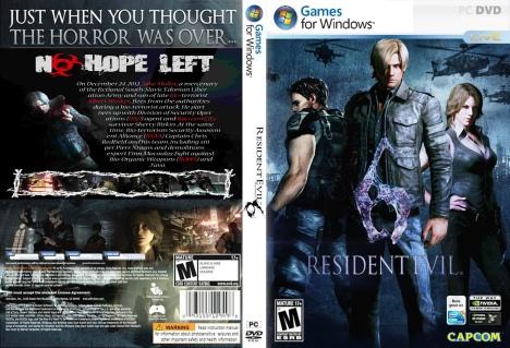 Resident Evil 6 (5DVD) |